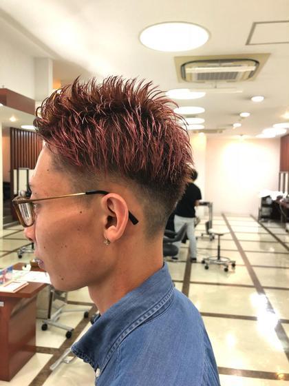 男性限定!!カット+顔剃り+ヘッドスパ