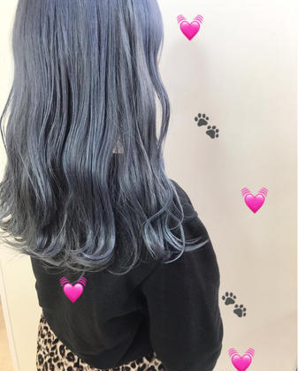 ❤️②カラーと髪質改善オージュアトリートメント❤️