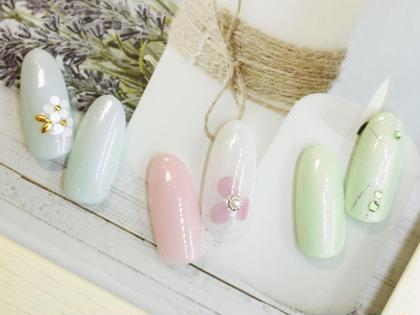 【オフ込】甘皮ケア付♪シンプルコース、豊富なサンプルからお好みのデザインやカラーを選んで頂けます。