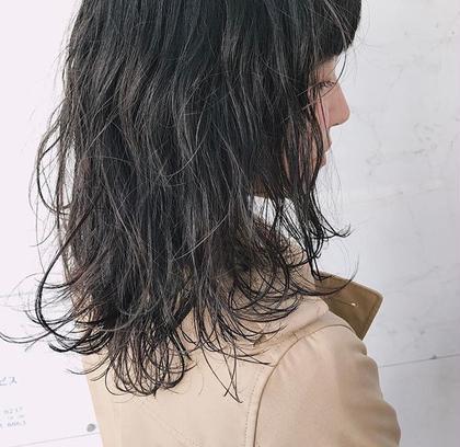 ニュアンスパーマ  カラーができない人でも パーマでおしゃれ女子に👸🏻 田中あずさの