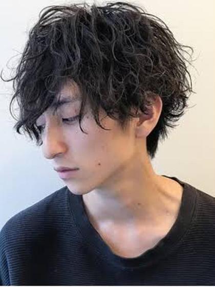 💜Li Li by Glanzのみ!【メンズ限定カット & パーマ】7700円💜