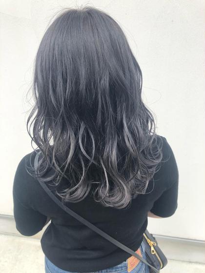 【エドルカラー+前髪カット】