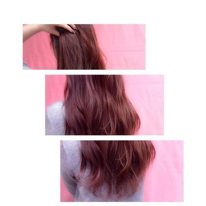 ストロベリーピンクカラー gracebyafloat所属・ハヤシアキコのスタイル