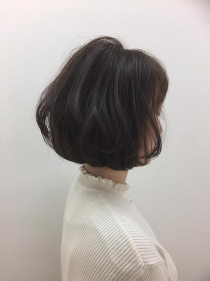 ふんわりボブスタイル❤️ cocochie salon所属・藤田詩菜のスタイル
