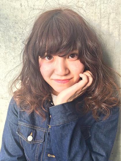 hairmakecafe所属・山田悠太のスタイル