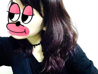 オールマニキュア ピンク紫 miq hair&beauty所属・裏本ひかるのスタイル