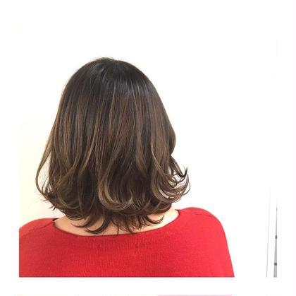 💖大人気💖【外国人風カラー👑No.1🧡ダメージレス🧡髪質改善カラー】イルミナカラー&極潤トリートメント