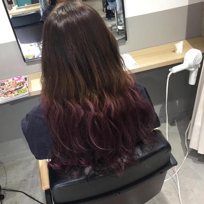 グラデーションカラー Road Hair池袋東口店所属・金子愛美のスタイル
