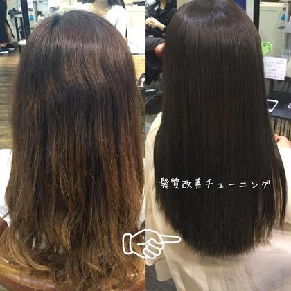 🛁全員.大きいうねり、広がりやすい髪質に【髪質改善チューニング】