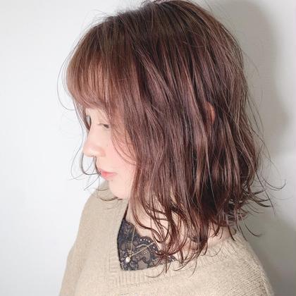 🌟前髪カット&ワンカラー✨3ステップトリートメント付き