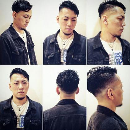 京増信吾のメンズヘアスタイル・髪型
