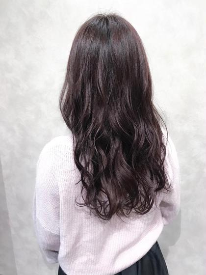 【ローズマリーカラー☺︎】  ほんのりピンク味を感じる透明感のある髪色に♪  ✔︎ピンク系のつや感のある髪色にしたい方 ✔︎肌馴染みのよい美肌カラーにしたい方 ✔︎優しい印象に見える髪色にしたい方  などにオススメです🙆♂️  色持ち目安1.5ヶ月  インスタグラムで、その他スタイル更新してます。 気に入ったスタイルは保存しておいてもらうと カウンセリングがスムーズです☆  instagram→@hayatoniwa