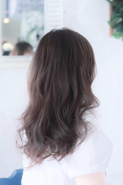 柔らかくピンクの入った春にピッタリのカラーです!! &.end所属・上田翔也のスタイル