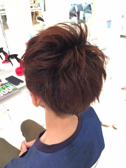 メンズスタイル 武渕広夢のメンズヘアスタイル・髪型