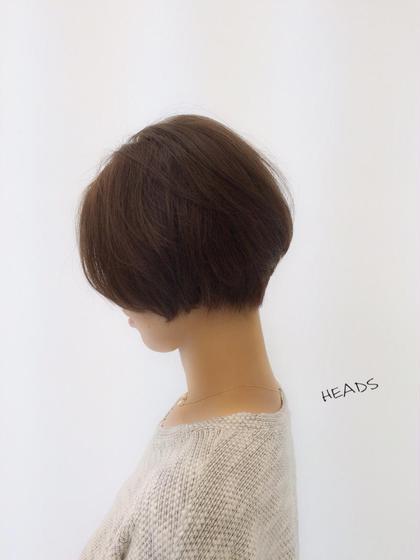 柔らかい曲線カット♪ 首が長く見えて小顔効果アリ! HEADS   ex所属・和田善之のスタイル