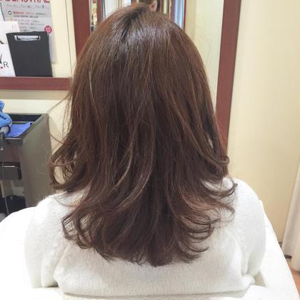 【髪質診断あり】カット+オーガニックカラー+ケアトリートメント⭐️