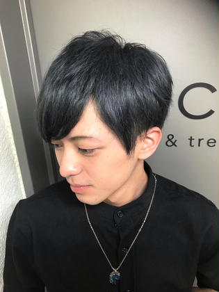 カラー ショート メンズ cut / wcolor / addicthy / gray✂︎