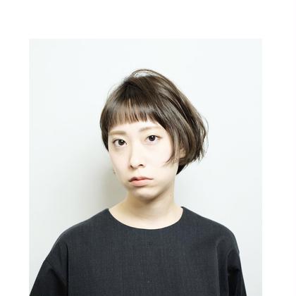 ふんわり個性派ボブ✨ amacahair& nail life所属・田向恵美のスタイル