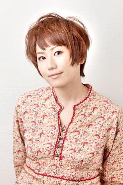 ナチュラルショートボブ!スタイリング簡単なラフスタイルです(^-^) hair design girl所属・芹澤隆信のスタイル