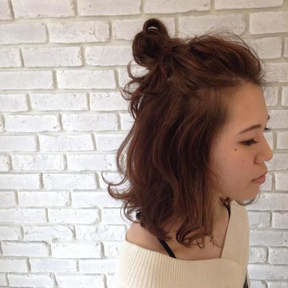 ゆれるきもちゆるるセット♡  agir hair所属・河合真里奈のスタイル