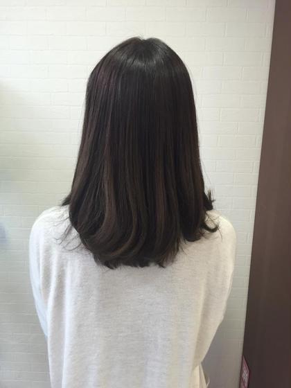 イルミナカラー✨オーシャンで深みのあるアッシュ✨ prize 池袋店所属・柴田愛美のスタイル
