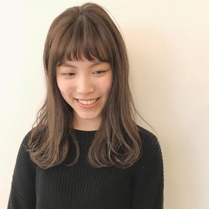 【minimo特別クーポン❤️】似合わせ前髪カット & カラー
