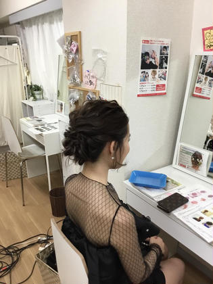 アップスタイリング! 興味のある方はどうぞ!! #アップスタイリング #まとめ髪 saibu所属・辻井隆太のスタイル