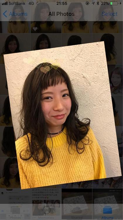 ♡オン眉♡ななめバング✂︎♡♡ MODEK's淡路店所属・adachimaiのスタイル