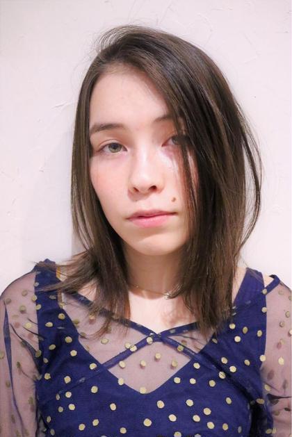 【#アオハル】❤️美髪ツヤ重視カット&気になる顔周りストレート❤️