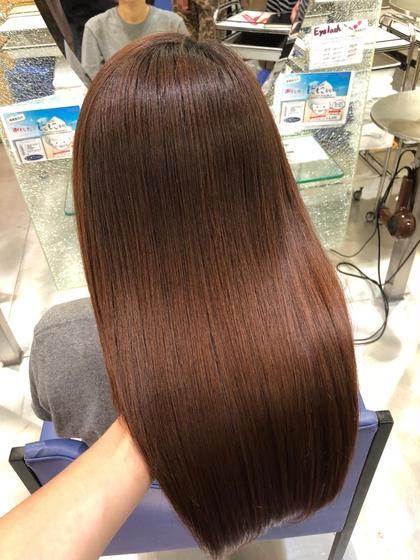 美髪チャージ^_^ 継続してやれば圧倒的なツヤがでます。