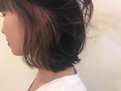 カラー ミディアム inner color ❤︎ pink