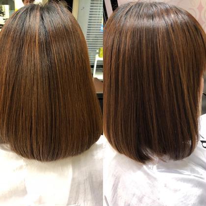【うねり・パサつく方に潤いチャージ】カット & 髪質改善