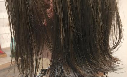 カラー  【 イルミナカラー × ハイライト 】  耳にかけて ちらっ と見せる ワンランク上の ハイライト ♪