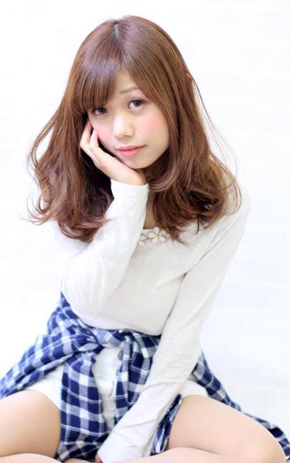 フリーランス美容師(Verde Hair Garden★ベルデヘアーガーデン)所属・⭐︎太田多祥⭐︎のスタイル