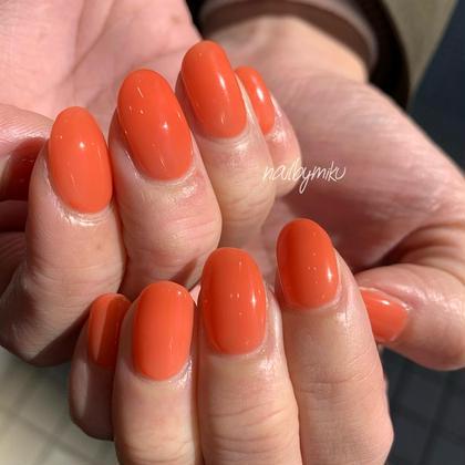 《大人気✨爪が痛まないパラジェルネイル》💅ワンカラー