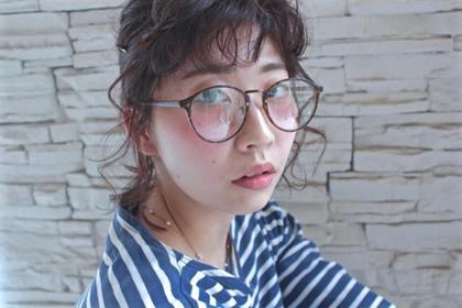 ショートアレンジ 撮影モデル Hair Atelier Nico所属・佐々木由香のスタイル
