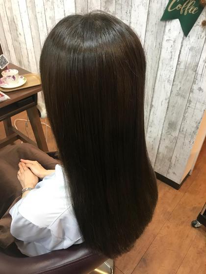 今話題の🌟🌟🌟髪質改善カラー💖✌🏻