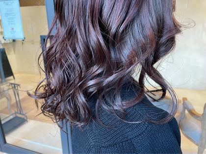 ワンカラー+N.髪質改善トリートメント🕊