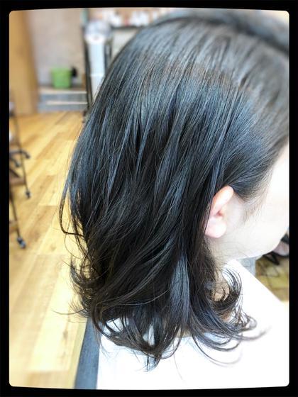 カット+パーマ+ミルボン髪質別3stepトリートメント