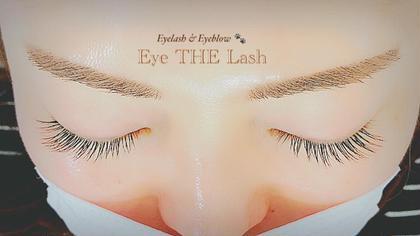 シングル120本。少し太めのエクステをつけることで存在感がさらにUP☆ Eyelash&EyebrowEye THELash所属・EyeTHELashのスタイル