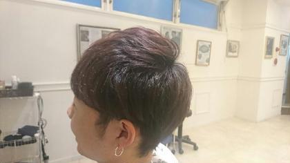 山崎鉄雄のメンズヘアスタイル・髪型