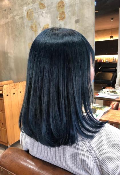 【 外国人風 ハイトーン 】ダブルカラー / デザインカラー