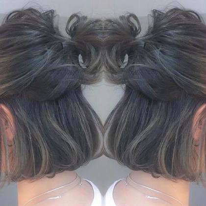ricca反町のショートのヘアスタイル