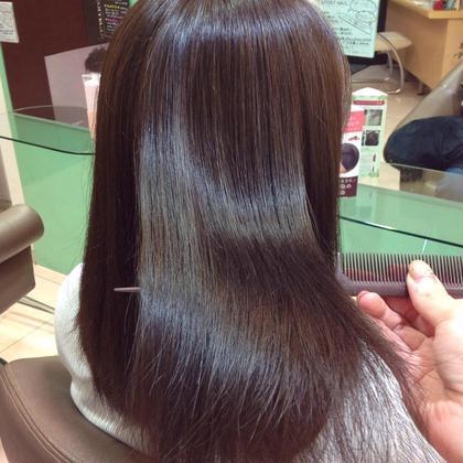 《初回お試し》髪質改善カラーエステ+カット+トリートメント