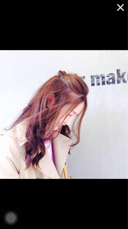 ラベンダーアッシュ☆ hair make one003所属・椎葉安純のスタイル