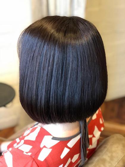 平日限定!朝時短✨今日から美髪始めませんか‼️カット+縮毛矯正+トリートメント+スパ