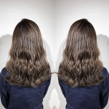 💕初回2回目限定💕💓カット&透明感カラー&髪質改善4stepトリートメント💓⚠️ロング料金なし⚠️