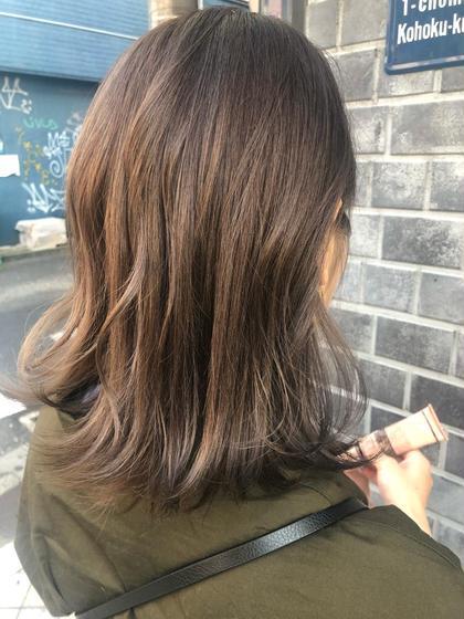 ❣️リピーター専用クーポン❣️アディクシーカラー+シルクトリートメント前髪カット付き🌟