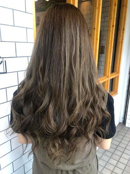 💙ワンカラー+生トリートメント💙カラーしながら髪の毛のケア🧞♀️