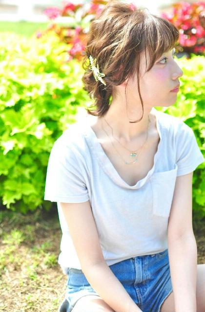 夏のお手軽ヘアアレンジ♪ andKAITO所属・and KAITOkaitoのスタイル